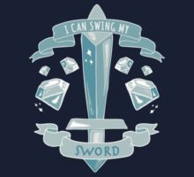 Diamond Sword - Tshirt by Ashlee Warren