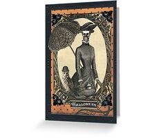 Spooky Tea Greeting Card