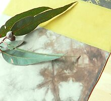 Table Runner Yellow detail by Jenny Hogben