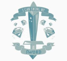 Diamond Sword - Sticker by Ashlee Warren