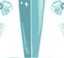 Diamond Sword - Sticker Sticker