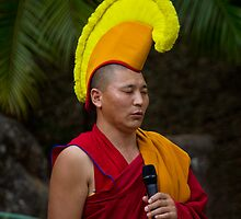 Tibetan Monk by Steve Bass