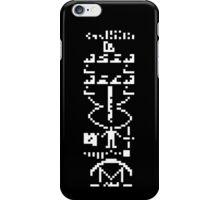arecibo message / case&sticker iPhone Case/Skin