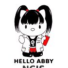 Hello Abby - NCIS  by CJSDesign