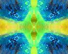 Green Vortex (Silica/Chrysocolla) by Stephanie Bateman-Graham