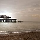 Burnt in Brighton by James Stevens