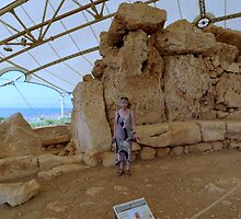 Visiting the Goddess Temple of Mnajdra by HELUA