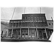 Old Washoe Club  Poster