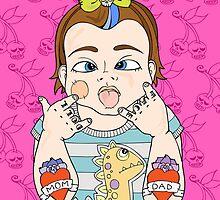 Tattooed Baby 005 by TattooedBabies