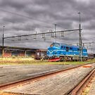 Locomotives of Värnamo VII by João Figueiredo