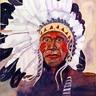CHIEF RED DOG by Robert Benjamin