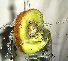 Kiwi Splash by Premkumar  Antony