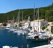 Vathy harbor by Maria1606