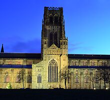 Durham Cathedral panorama by Asher Haynes