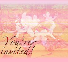 Party Invitation - General - Wild Azalea Blossoms by MotherNature