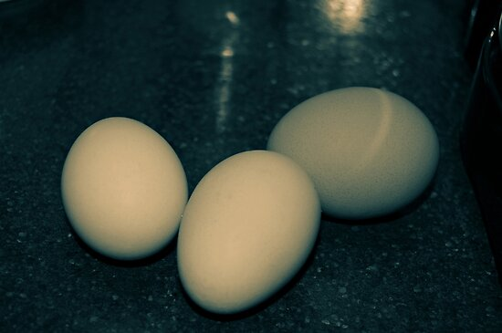 Three eggs by lumiwa