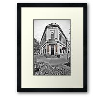 Malad City Bank Framed Print
