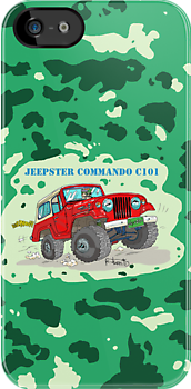 Jeepster Commando C-101 by RFlores