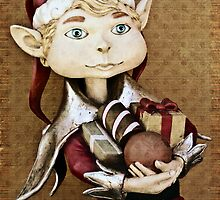 christmas elf by Glenda Williams
