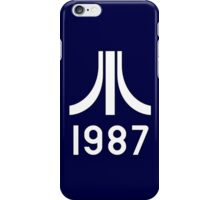 1987 iPhone Case/Skin