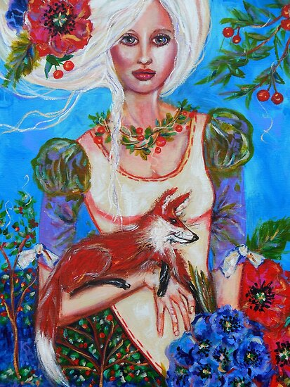 CHERRIE'S FOX by kimberlysdream