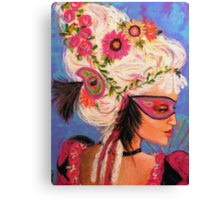 THE PINK MASKED SPY Canvas Print