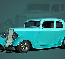 1933 Ford Vicky Hot Rod by TeeMack
