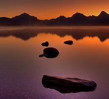 Glacier Mountain Magic - Sunrise 6:51am by JamesA1