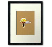 Chibi Wasp Framed Print