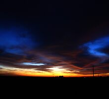 Halloween Sunset Sky 2012 by agenttomcat