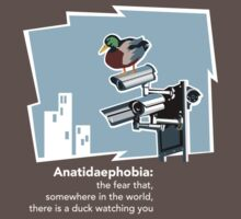 Anatidaephobia (dark background) by Matt Mawson
