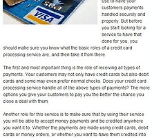 Oracle payment systems reviews-Basic Roles of Credit Card Processing Service by oraclepayment