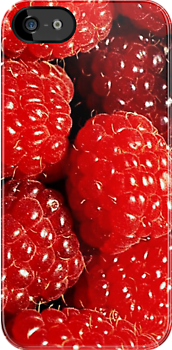 Raspberries by TinaGraphics