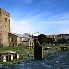 Horton Church and Pen-y-ghent by SteveFinch