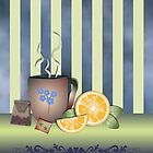Orange Tea time by ralphiespicks