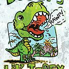 Daddy's Little T-Rex by MudgeStudios
