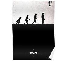 99 Steps of Progress - Hope Poster