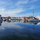 Water reflections in the harbour by flips99