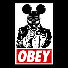 i Want You ! (obey version - red) by Thomas Jarry