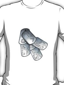 battlefield dogtags T-Shirt