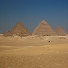 Pyramids of Giza by Sam Tabone