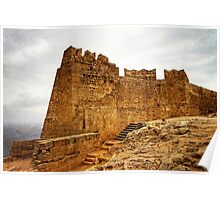 The Acropolis of Lindos Poster