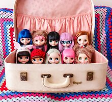 A suitcase of Blythes by Zoë Power