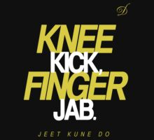 Knee Kick Finger Jab (Jeet Kune Do) by bammydfbb