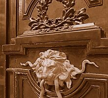 Imposing door knocker by bubblehex08