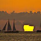 Sunset Horizon by Rob Atkinson