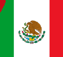 Kiss Me I'm Mexican Sticker