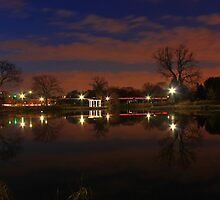 Lisle Nightscape by Adam Kuehl