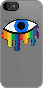 Crying Rainbow - Bright Blue by impulsiVdesigns