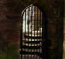 Furness Abbey Infirmary Gate      by Colin Bentham